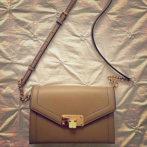 MICHAEL KORS - Crossbody Purse Leather